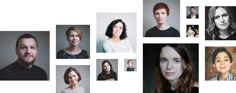 Фотопортреты преподавателей проекта «Опытным путем»