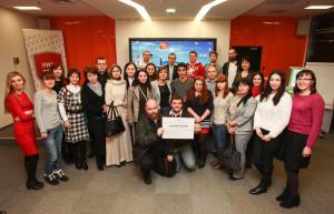 Участники благотворительных гастролей в Казани, январь 2014